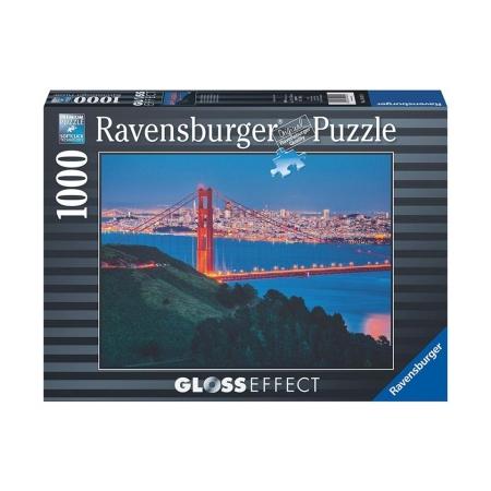 Пазл с глянцевым эффектом Сан-Франциско, 1000 деталей