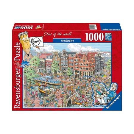 Пазл Амстердам, 1000 деталей