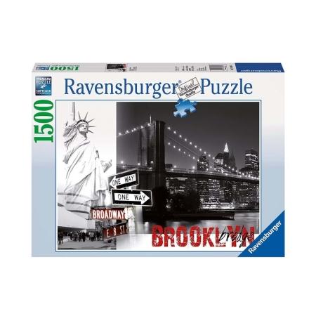 Пазл Бруклинский мост, 1500 деталей