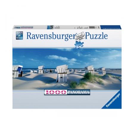 Пазл панорамный Пляжные корзинки на Зюлте, 1000 деталей