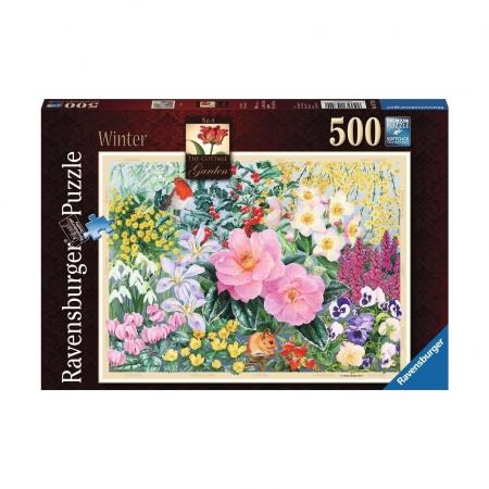 Пазл Зимний сад, 500 деталей