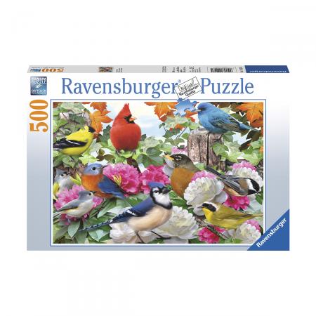 Пазл Птички в саду, 500 деталей