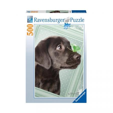 Пазл Счастливый щенок, 500 деталей