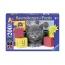 Пазл Котенок с кубиками XXL, светящийся, 200 деталей