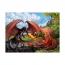 Пазл Битва драконов XXL, 200 деталей