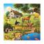 Пазл 3 в 1 Лес, зоопарк, домашние животные, 3х49 деталей