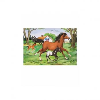 Пазл 2 в 1 Мир лошадей, 2х24 детали