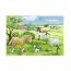 Пазл 2 в 1 Детки фермерских животных, 2х12 деталей