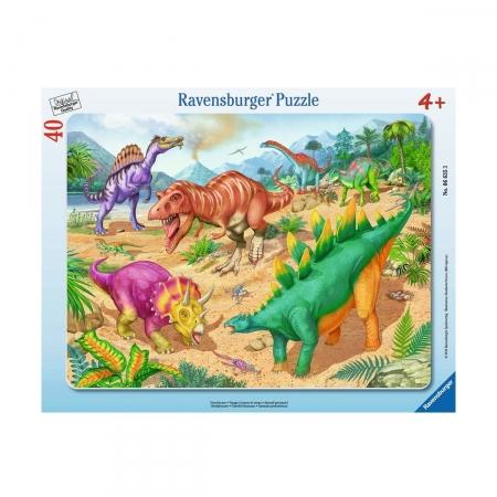 Пазл Эра динозавров, 40 деталей