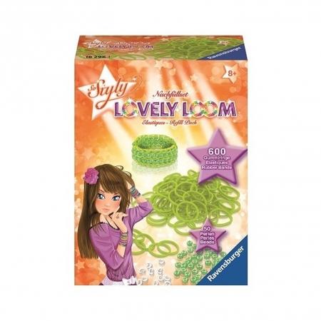 Набор резинок Lovely Loom, зеленые