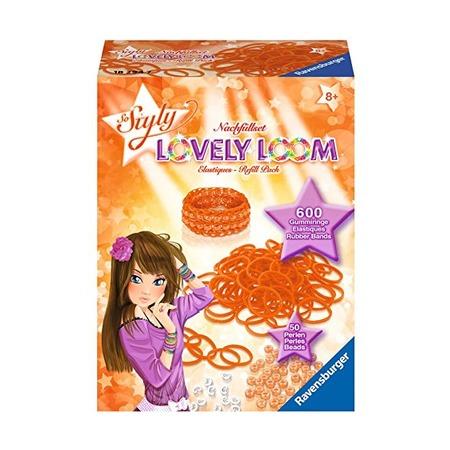 Набор резинок Lovely Loom, оранжевые