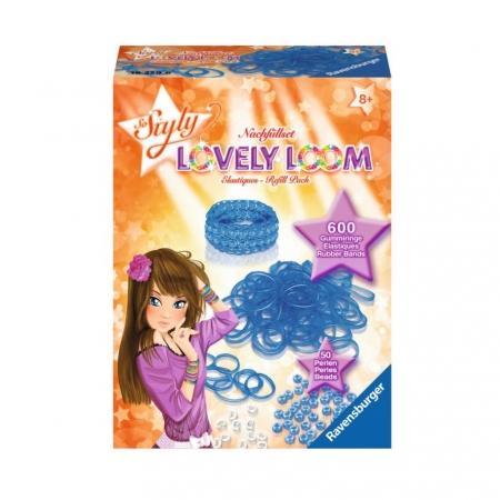 Набор резинок Lovely Loom, синие