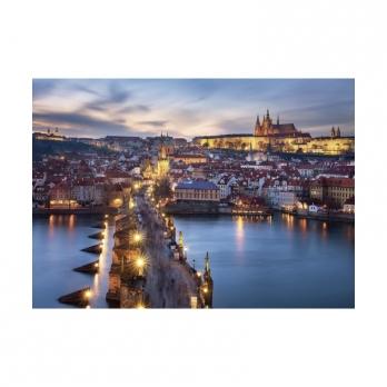 Пазл Ночная Прага, 1000 деталей