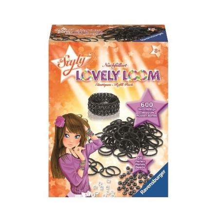 Набор резинок Lovely Loom, черные