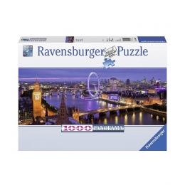 Пазл панорамный Ночной Лондон, 1000 деталей