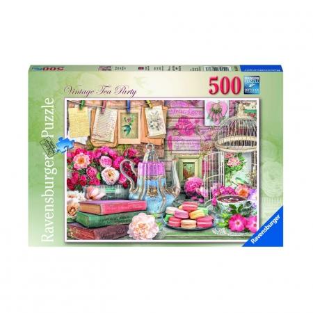 Пазл Винтажное чаепитие, 500 деталей
