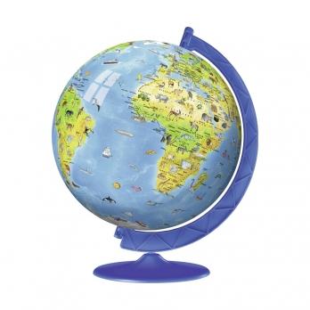3D Пазл Глобус, 180 деталей