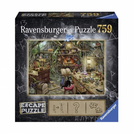 Пазл-квест Кухня ведьм, 759 деталей