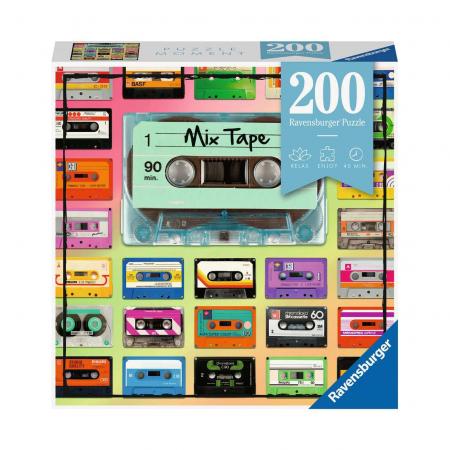 Пазл Микс кассет, 200 деталей