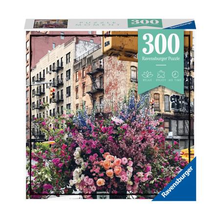 Пазл Цветы в Нью-Йорке, 300 деталей