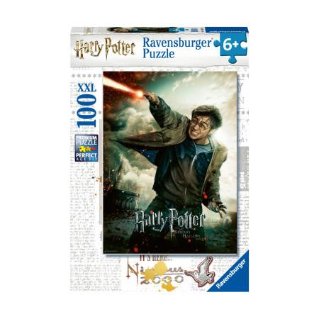 Пазл XXL Гарри Поттер Вингардиум Левиоса, 100 деталей